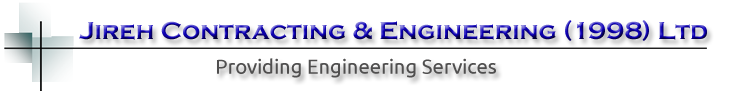 JIREH CONTRACTING & ENGINEERING (1998) LTD